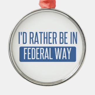 私は中央政府方法でむしろあります メタルオーナメント