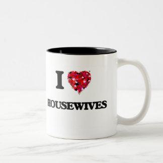私は主婦を愛します ツートーンマグカップ
