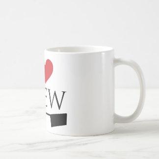 私は乗組員のマグを愛します コーヒーマグカップ