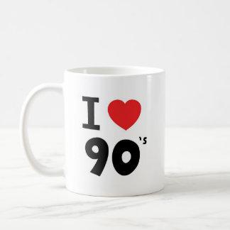 私は九十年代を愛します コーヒーマグカップ