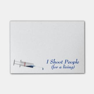 私は人々のナースのユーモアを撃ちます ポストイット