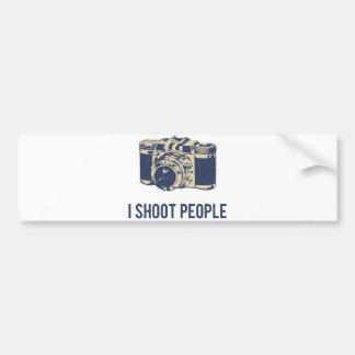 私は人々の写真撮影のカメラを撃ちます バンパーステッカー