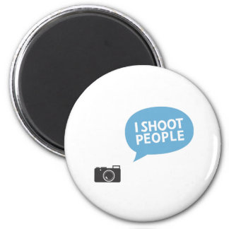 私は人々を撃ちます マグネット
