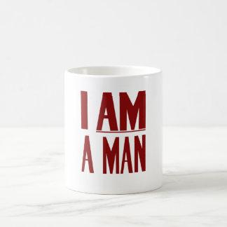 私は人です -- 人権 コーヒーマグカップ