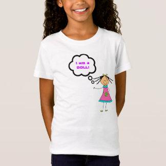 私は人形の小さな女の子のワイシャツです Tシャツ
