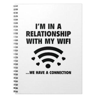 私は人間関係にあります ノートブック
