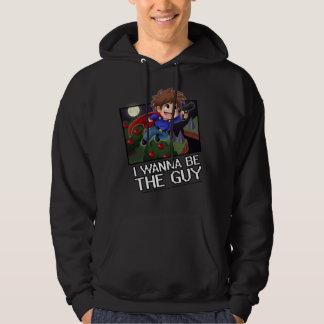私は人-フード付きスウェットシャツでありたいと思います! パーカ
