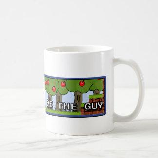 私は人-マグでありたいと思います! コーヒーマグカップ
