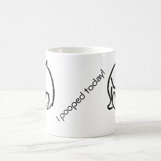 私は今日pooped! (Nethenia版) コーヒーマグカップ
