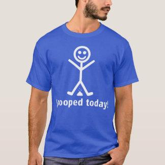 私は今日pooped! tシャツ