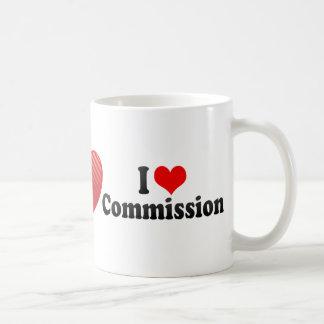 私は任務を愛します コーヒーマグカップ