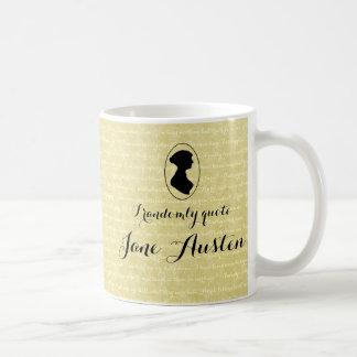 私は任意にジェーンAustenのコーヒーカップを引用します コーヒーマグカップ