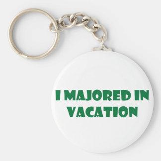 私は休暇を専攻しました キーホルダー