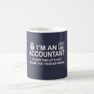 私は会計士です コーヒーマグカップ
