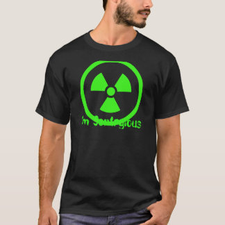 """""""私は伝染性の"""" Tシャツです Tシャツ"""