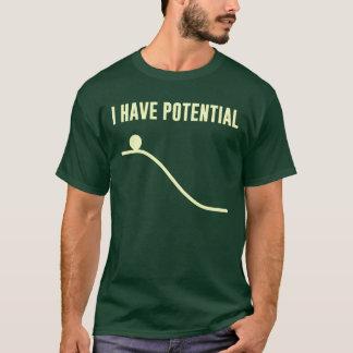 私は位置エネルギーを有します Tシャツ