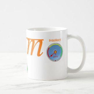 私は体の心の知性です コーヒーマグカップ