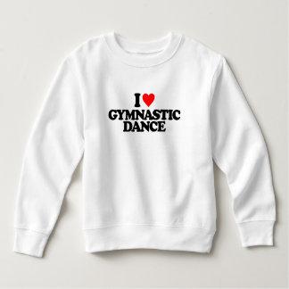 私は体操のダンスを愛します スウェットシャツ