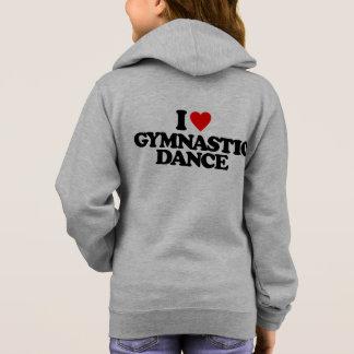 私は体操のダンスを愛します パーカ