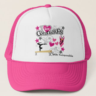 私は体操の帽子を愛します キャップ