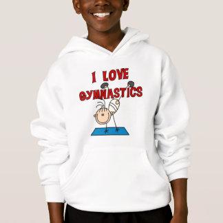 私は体操のTシャツおよびギフトを愛します