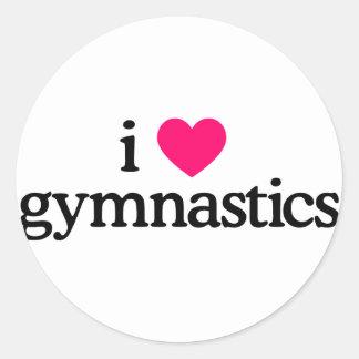 私は体操を愛します ラウンドシール