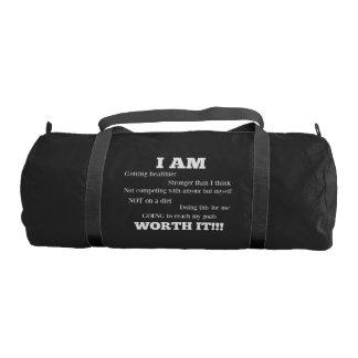 私は体育館のバッグです ジムバッグ