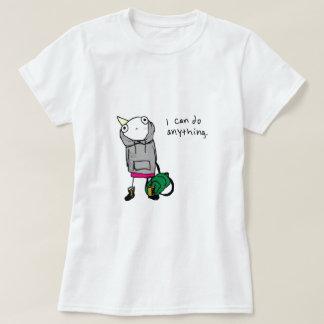 私は何でもしてもいいです Tシャツ