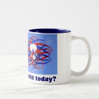 私は何を今日造りましょうか。 ツートーンマグカップ