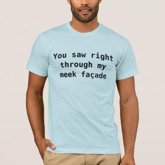 私は余分な男らしさのためにundercompensating tシャツ