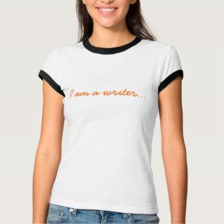私は作家の…オレンジです Tシャツ
