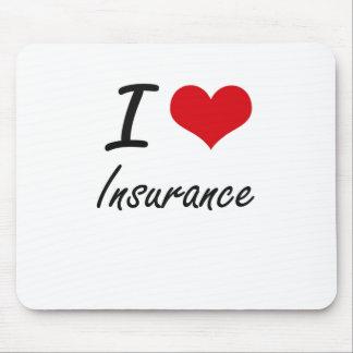 私は保険を愛します マウスパッド