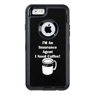 私は保険代理店、私必要としますコーヒーをです! オッターボックスディフェンダーiPhoneケース