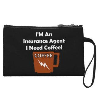 私は保険代理店、私必要としますコーヒーをです! クラッチ