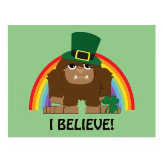 私は信じます! 小妖精ビッグフット ポストカード
