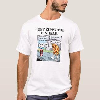 私は元気ピンの頭を得ます! (4) Tシャツ