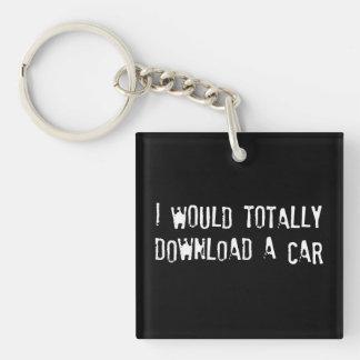 私は全く車をダウンロードします キーホルダー