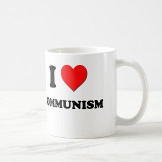 私は共産主義を愛します コーヒーマグカップ