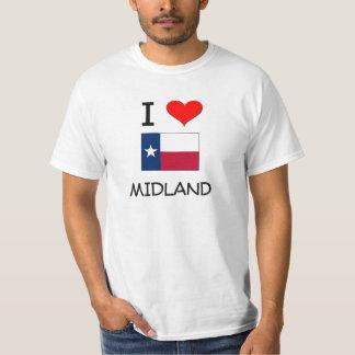 私は内陸のテキサス州を愛します Tシャツ