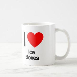 私は冷蔵庫を愛します コーヒーマグカップ