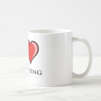 私は凧の飛行を愛します コーヒーマグカップ