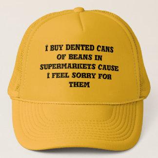 私は凹まされた缶を買います キャップ