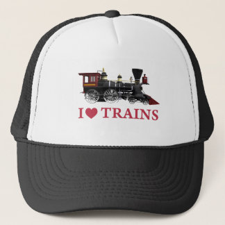私は列車を愛します キャップ