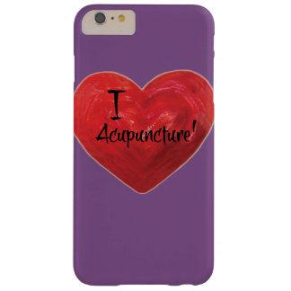私は刺鍼術の電話箱の紫色の背景を愛します BARELY THERE iPhone 6 PLUS ケース