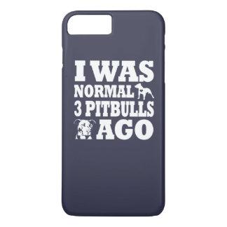 私は前に常態3ピットブルでした iPhone 7 PLUSケース