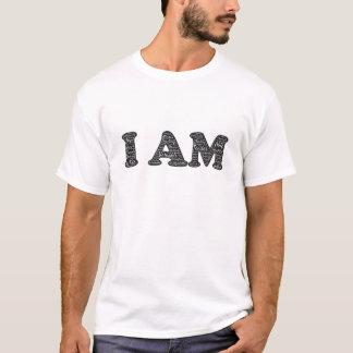 私は前向きな断言のワイシャツです Tシャツ