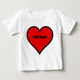 私は劇場を愛します ベビーTシャツ