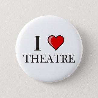 私は劇場を愛します 5.7CM 丸型バッジ