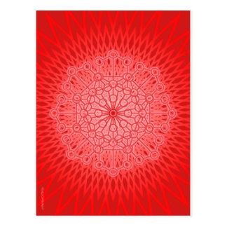 私は力です: Muladhara -根のチャクラ ポストカード