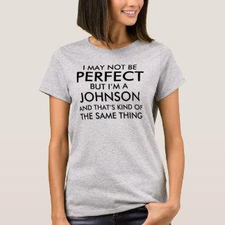 私は加えます名字を完全ではないかもしれません Tシャツ
